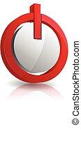 3d power button