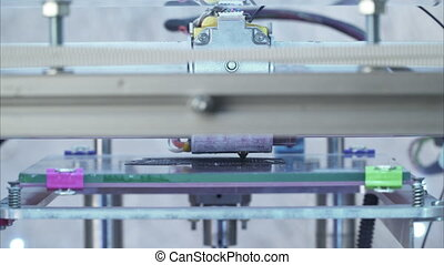 3D printer printing - 3D-printer printing the product