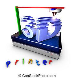 3d, printer