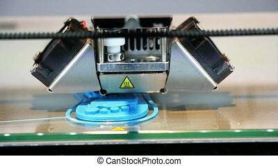 3D printer - Three dimensional printer, Printing with...