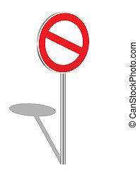 3d, prohibition, signe