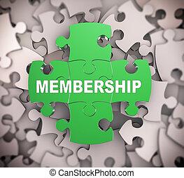 3d puzzle pieces - membership