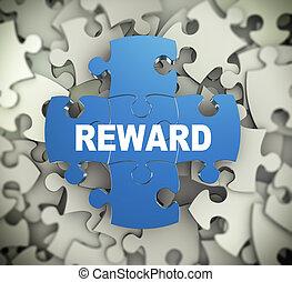 3d puzzle pieces - reward