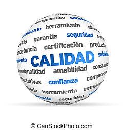 3d, qualità, parola, sfera, (in, spanish)