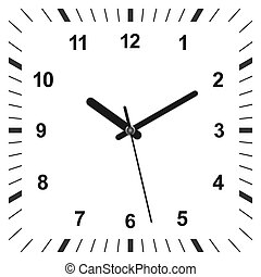 3d realistic clock