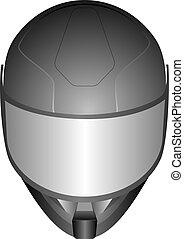 racing helmet - 3d realistic motor racing helmets with glass...