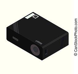 multimedia sparkling shine video projector