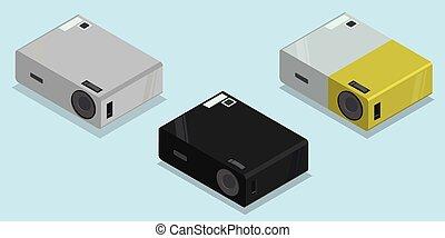 multimedia video projector