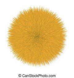 Fluffy  Hair Ball