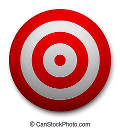 3d realistic Target