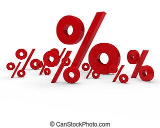 3d red sale percent