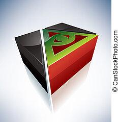 3D Religion: Cao Dai - Three-dimensional religion symbols:...