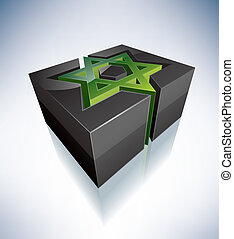 3D Religion: Star of David