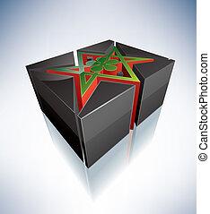 3D Religion: Thelema, Unicursal Hexagram - Three-dimensional...