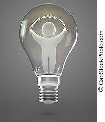 3d, render, ランプ