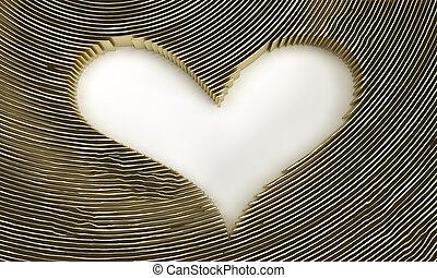 3D Render Heart Love symbol. Valentine's Day sign illustration Graphic Design.