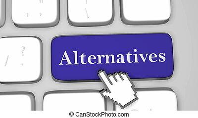 Alternative keyboard key