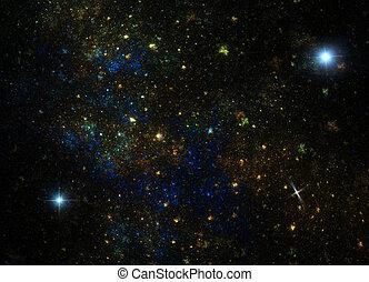universe - 3D render illustration of universe