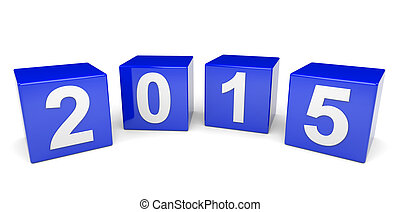Year 2015 cubes