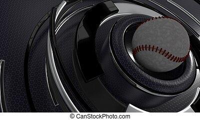 Baseball sports background