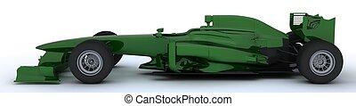 Generic open wheeled racing car - 3D render of a Generic...
