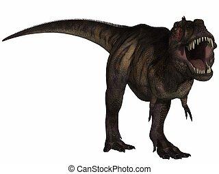 Tyrannosaurus Rex- 3D Dinosaur - 3D render of a...