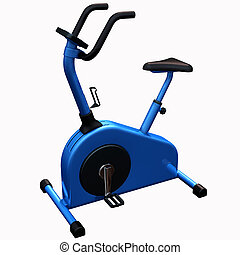 Exercise Bike - 3D Render of an Exercise Bike