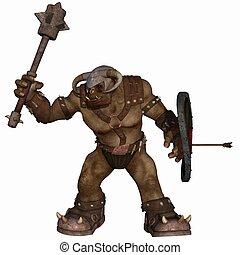 Fantasy Figure - 3D Render of an Fantasy Figure