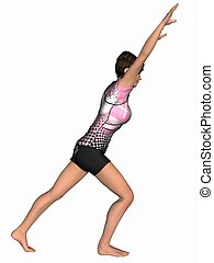 Gymnastic Pose
