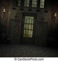 Mystic Place - 3D Render of an Mystic Place