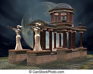 Mystic Temple - 3D Render of an Mystic Temple