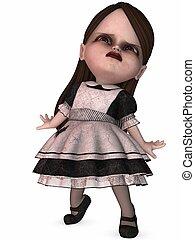 Nightmare Girl - 3D Render of an Nightmare Girl