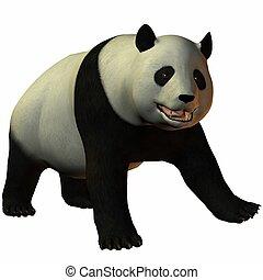 Toon Panda - 3D Render of an Toon Panda