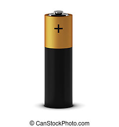 3d render of battery