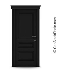 3d render of door