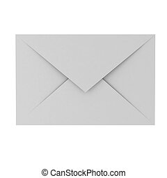 3d render of envelope