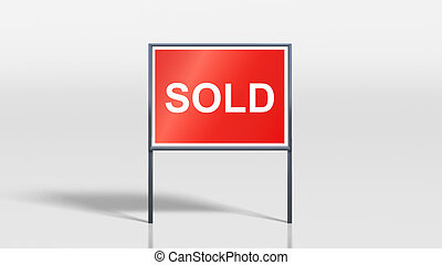 house signage stands sold