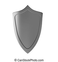 3d render of shield
