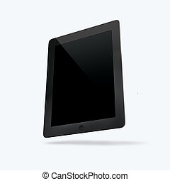 3D render of the tablet on a white background