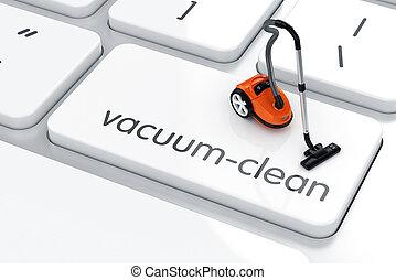 Vacuum-cleanl concept