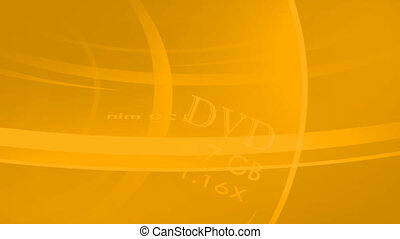 3D Rendered DVD Rotating