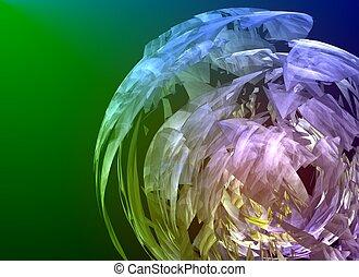 3D rendered fractal