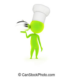 little guy with a chef hat