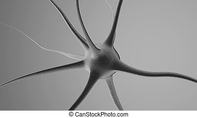3D rendered Illustration of a Neuronal cell - 3D ...