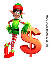 elves with dollar sign