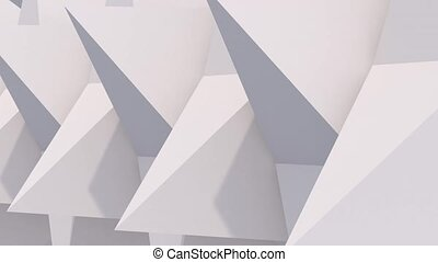 3d rendered pyramids rotating - There are pyramid look...