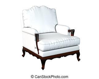 3D rendering armchair