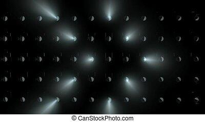 """""""3d rendering, Concert lights flood animation."""""""