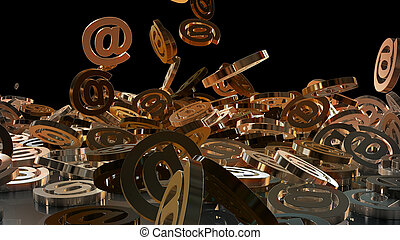 3d rendering email