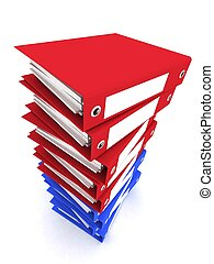 3d rendering folders for papers